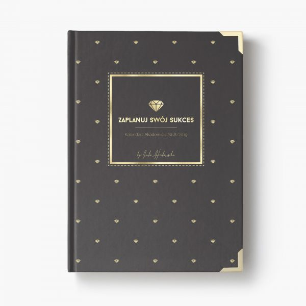 Kalendarz Akademicki 18/19 Gold Diamonds