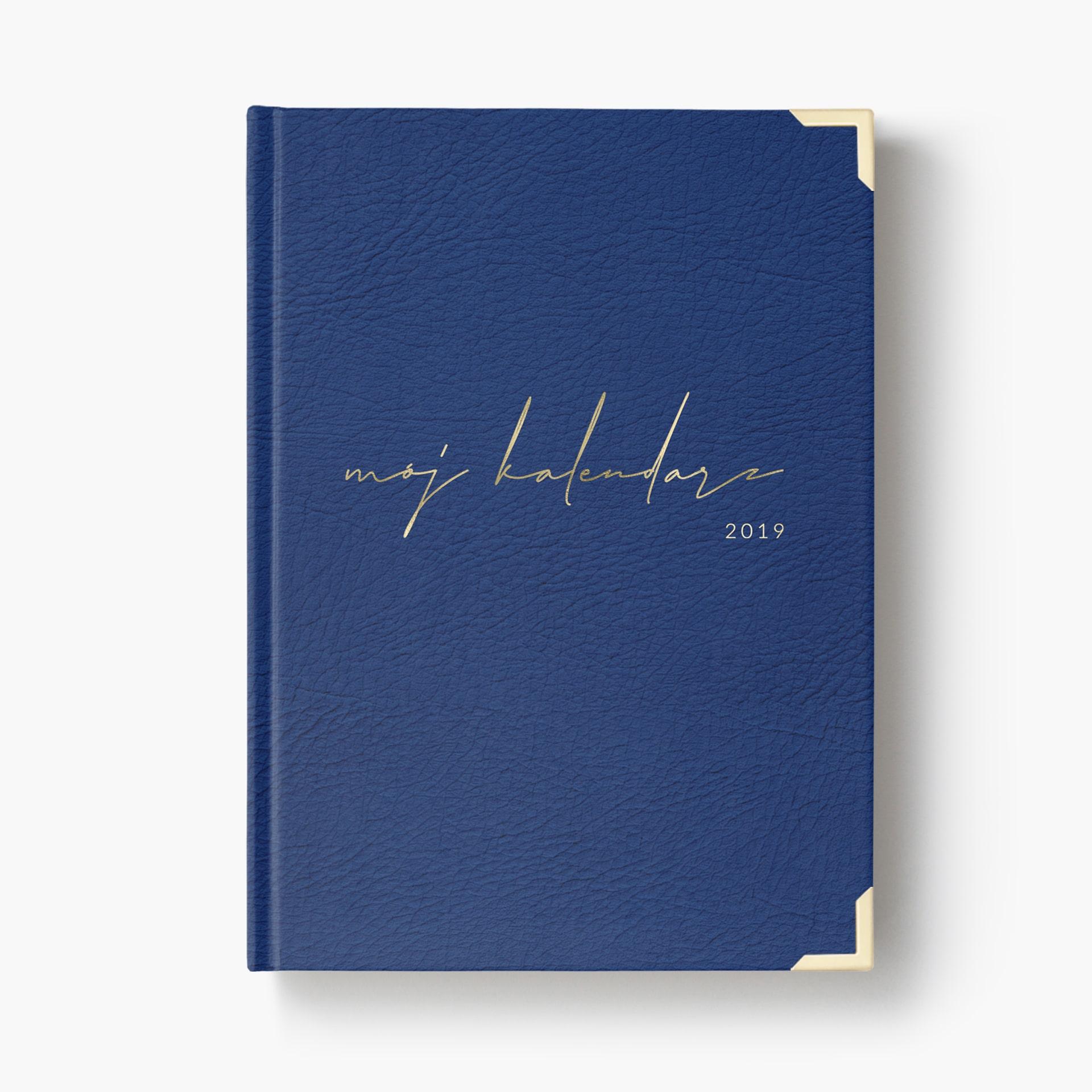 a75b95848da9 Kalendarz 2019 Navy Blue    Zaplanuj Swój Sukces    Idealny Prezent!